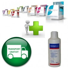 PROMO Pachet 8 ROLE Tape Original Germania + CADOU Leukotape Remover + transport GRATUIT